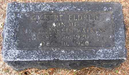 WATKINS, GILBERT ELDRED - Sebastian County, Arkansas | GILBERT ELDRED WATKINS - Arkansas Gravestone Photos