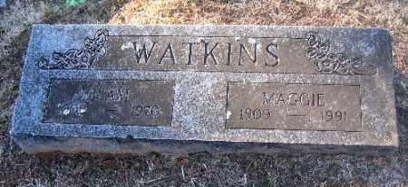 WATKINS, ISAM - Sebastian County, Arkansas | ISAM WATKINS - Arkansas Gravestone Photos