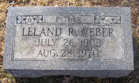 WEBER, LELAND R - Sebastian County, Arkansas | LELAND R WEBER - Arkansas Gravestone Photos