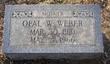 WEBER, OPAL W - Sebastian County, Arkansas | OPAL W WEBER - Arkansas Gravestone Photos