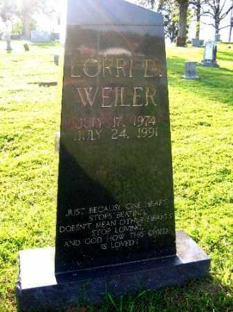 WEILER, LORRI D. - Sebastian County, Arkansas | LORRI D. WEILER - Arkansas Gravestone Photos