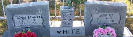 WHITE, ANNIE LEE - Sebastian County, Arkansas | ANNIE LEE WHITE - Arkansas Gravestone Photos