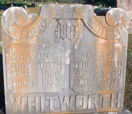 WHITWORTH, WILSON L - Sebastian County, Arkansas | WILSON L WHITWORTH - Arkansas Gravestone Photos