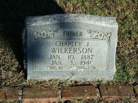 WILKERSON, CHARLEY J. - Sebastian County, Arkansas | CHARLEY J. WILKERSON - Arkansas Gravestone Photos