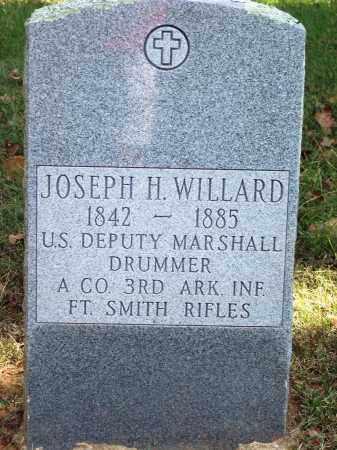 WILLARD (VETERAN CSA) (PUBLIC, JOSEPH HENRY - Sebastian County, Arkansas | JOSEPH HENRY WILLARD (VETERAN CSA) (PUBLIC - Arkansas Gravestone Photos