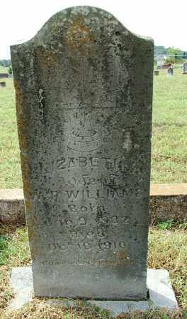 WILLIAMS, ELIZABETH A. - Sebastian County, Arkansas | ELIZABETH A. WILLIAMS - Arkansas Gravestone Photos
