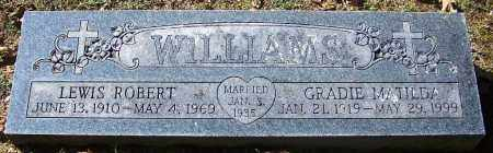 WILLIAMS, GRADIE MATILDA - Sebastian County, Arkansas | GRADIE MATILDA WILLIAMS - Arkansas Gravestone Photos