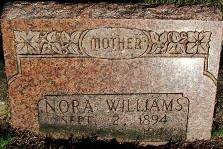 WILLIAMS, NORA - Sebastian County, Arkansas | NORA WILLIAMS - Arkansas Gravestone Photos