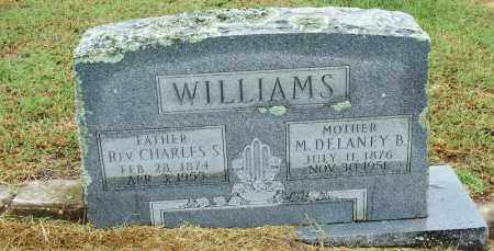 WILLIAMS, REV CHARLES S - Sebastian County, Arkansas | REV CHARLES S WILLIAMS - Arkansas Gravestone Photos
