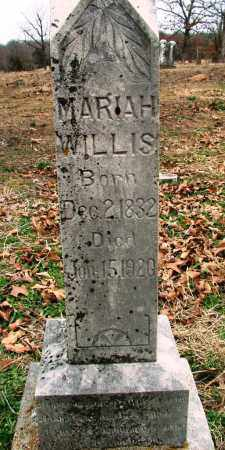 "WILLIS, MARIAH JANE""AUNT PUSS"" - Sebastian County, Arkansas 