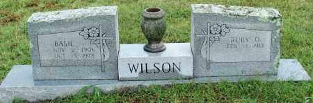 WILSON, BASIL - Sebastian County, Arkansas | BASIL WILSON - Arkansas Gravestone Photos