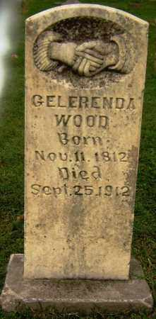 WOOD, GELERENDA - Sebastian County, Arkansas | GELERENDA WOOD - Arkansas Gravestone Photos
