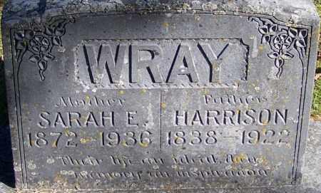 WRAY, SARAH E - Sebastian County, Arkansas | SARAH E WRAY - Arkansas Gravestone Photos