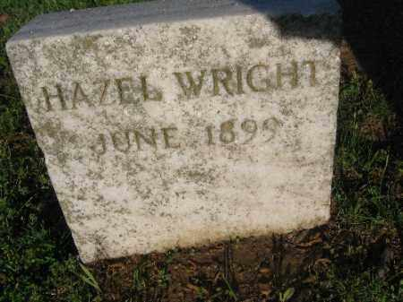 WRIGHT, HAZEL - Sebastian County, Arkansas | HAZEL WRIGHT - Arkansas Gravestone Photos