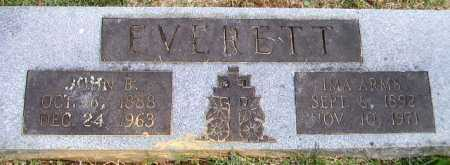EVERETT, IMA - Sevier County, Arkansas | IMA EVERETT - Arkansas Gravestone Photos