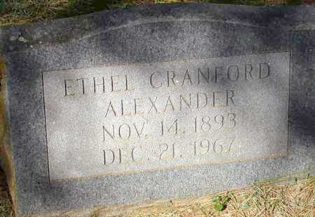 ALEXANDER, ETHEL - Sevier County, Arkansas | ETHEL ALEXANDER - Arkansas Gravestone Photos