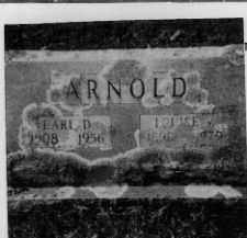 ARNOLD, LOUISE - Sevier County, Arkansas | LOUISE ARNOLD - Arkansas Gravestone Photos