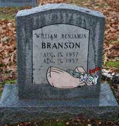 BRANSON, WILLIAM BENJAMIN - Sevier County, Arkansas | WILLIAM BENJAMIN BRANSON - Arkansas Gravestone Photos