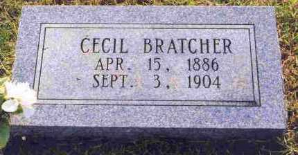BRATCHER, CECIL - Sevier County, Arkansas | CECIL BRATCHER - Arkansas Gravestone Photos