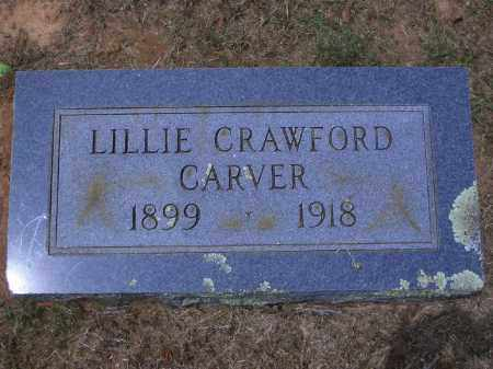 CARVER, LILLIE - Sevier County, Arkansas | LILLIE CARVER - Arkansas Gravestone Photos
