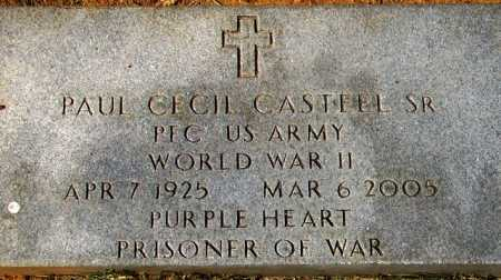 CASTEEL, SR (VETERAN WWII POW), PAUL CECIL - Sevier County, Arkansas | PAUL CECIL CASTEEL, SR (VETERAN WWII POW) - Arkansas Gravestone Photos