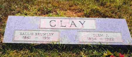 BRUMLEY CLAY, SALLIE - Sevier County, Arkansas | SALLIE BRUMLEY CLAY - Arkansas Gravestone Photos