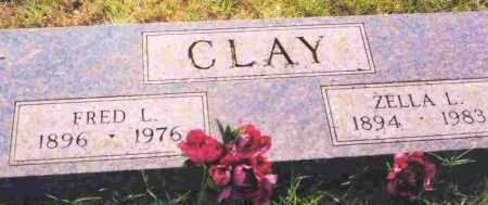CLAY, FRED L - Sevier County, Arkansas | FRED L CLAY - Arkansas Gravestone Photos