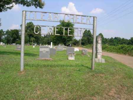 *CLEAR CREEK CEMETERY,  - Sevier County, Arkansas |  *CLEAR CREEK CEMETERY - Arkansas Gravestone Photos