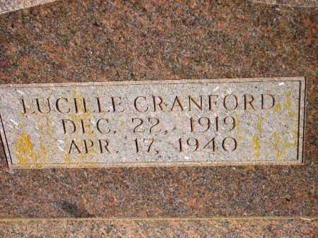CRANFORD, LUCILLE (CLOSEUP) - Sevier County, Arkansas | LUCILLE (CLOSEUP) CRANFORD - Arkansas Gravestone Photos
