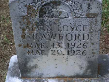 CRAWFORD, ALVIN LOYCE - Sevier County, Arkansas | ALVIN LOYCE CRAWFORD - Arkansas Gravestone Photos