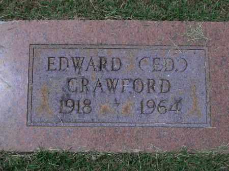 "CRAWFORD, EDWARD ""ED"" - Sevier County, Arkansas | EDWARD ""ED"" CRAWFORD - Arkansas Gravestone Photos"