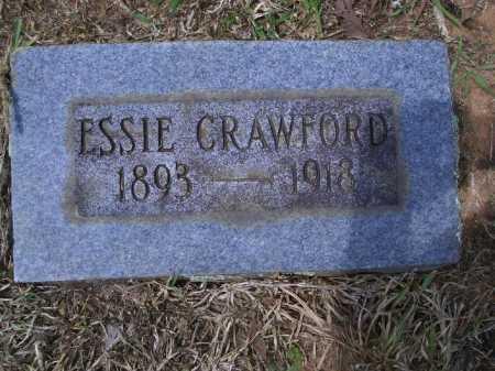 CRAWFORD, ESSIE - Sevier County, Arkansas   ESSIE CRAWFORD - Arkansas Gravestone Photos