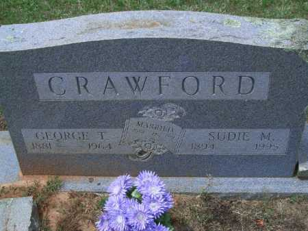 "CRAWFORD, ROBERTA MAE ""SUDIE"" - Sevier County, Arkansas 
