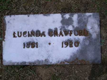 CRAWFORD, LUCINDA A. - Sevier County, Arkansas | LUCINDA A. CRAWFORD - Arkansas Gravestone Photos