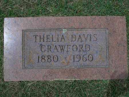 CRAWFORD, THELIA - Sevier County, Arkansas | THELIA CRAWFORD - Arkansas Gravestone Photos