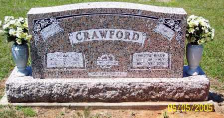 HESTER CRAWFORD, CHRISTINE - Sevier County, Arkansas | CHRISTINE HESTER CRAWFORD - Arkansas Gravestone Photos