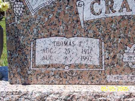 CRAWFORD, THOMAS J (CLOSEUP) - Sevier County, Arkansas | THOMAS J (CLOSEUP) CRAWFORD - Arkansas Gravestone Photos