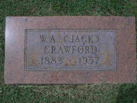 "CRAWFORD, W. A. ""JACK"" - Sevier County, Arkansas 