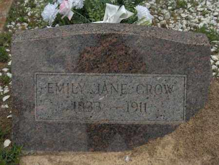 CROW, EMILY JANE - Sevier County, Arkansas | EMILY JANE CROW - Arkansas Gravestone Photos