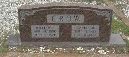 CROW, CARRIE M. - Sevier County, Arkansas | CARRIE M. CROW - Arkansas Gravestone Photos
