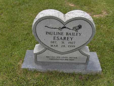 ESAREY, PAULINE - Sevier County, Arkansas | PAULINE ESAREY - Arkansas Gravestone Photos
