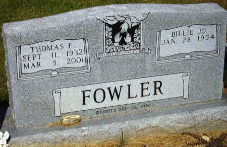 FOWLER, THOMAS E - Sevier County, Arkansas | THOMAS E FOWLER - Arkansas Gravestone Photos