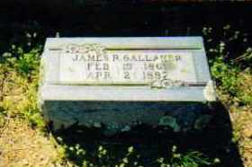 GALLAHER, JAMES R - Sevier County, Arkansas | JAMES R GALLAHER - Arkansas Gravestone Photos