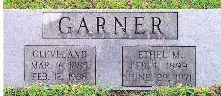 GARNER, CLEVELAND - Sevier County, Arkansas | CLEVELAND GARNER - Arkansas Gravestone Photos