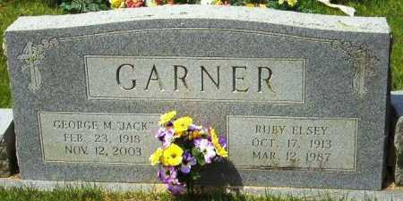 GARNER, RUBY ELSEY - Sevier County, Arkansas | RUBY ELSEY GARNER - Arkansas Gravestone Photos