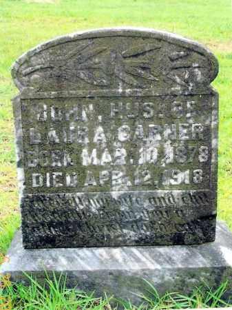 GARNER, JOHN - Sevier County, Arkansas | JOHN GARNER - Arkansas Gravestone Photos