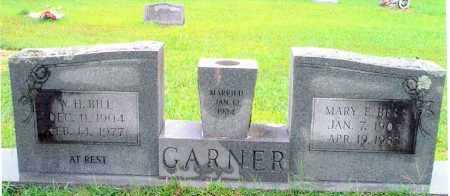 GARNER, WILLIAM H - Sevier County, Arkansas | WILLIAM H GARNER - Arkansas Gravestone Photos