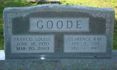 SMALLEY GOODE, FRANCIS LOUISE - Sevier County, Arkansas | FRANCIS LOUISE SMALLEY GOODE - Arkansas Gravestone Photos
