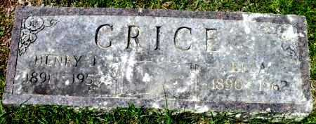 GRICE, ELLA - Sevier County, Arkansas | ELLA GRICE - Arkansas Gravestone Photos
