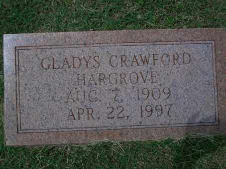 CRAWFORD HARGROVE, GLADYS - Sevier County, Arkansas | GLADYS CRAWFORD HARGROVE - Arkansas Gravestone Photos